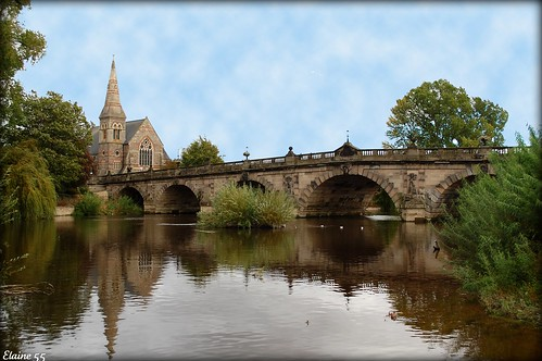 Shrewsbury The English Bridge