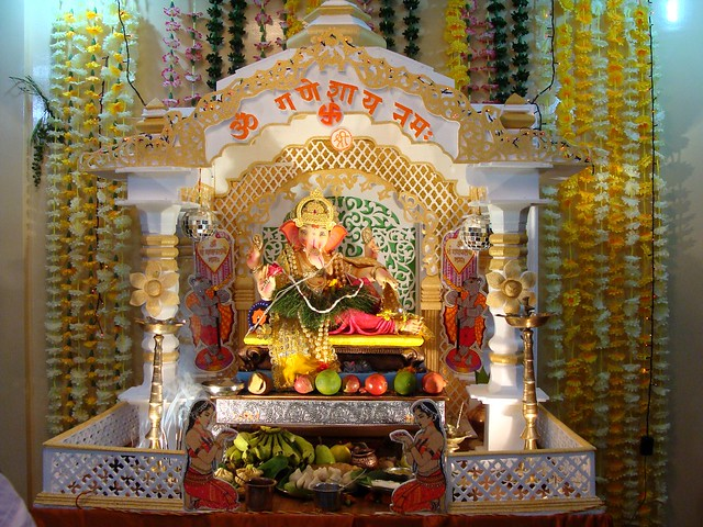 Ganpati decoration 2010 | Flickr - Photo Sharing!