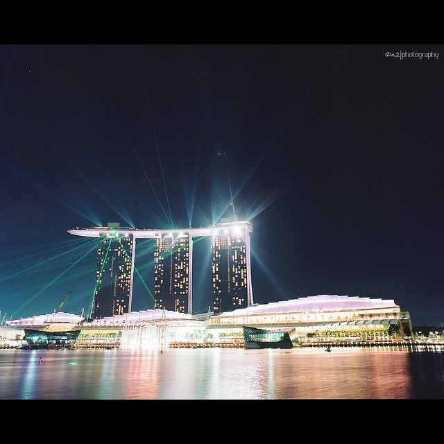 Marina Bay Sand - Lightshow