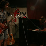 The War on Drugs performance and interview with Alisa Ali, live in Studio-A on August 9, 2011. Photo credit by Alex Erker.