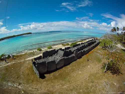 Marae Anini in Huahine, French Polynesia