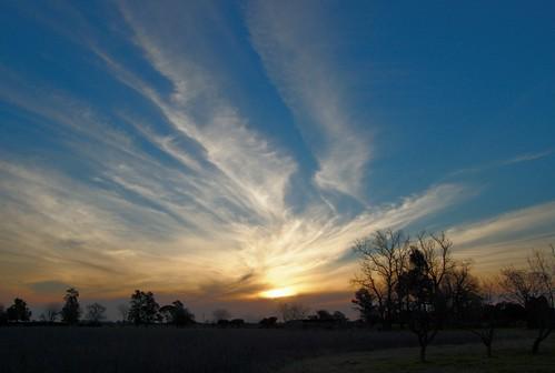 sunset sky cloud atardecer countryside cielo campo nube generallagos