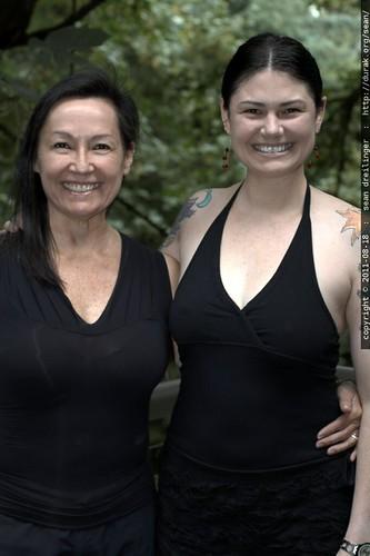 rachel & her mom