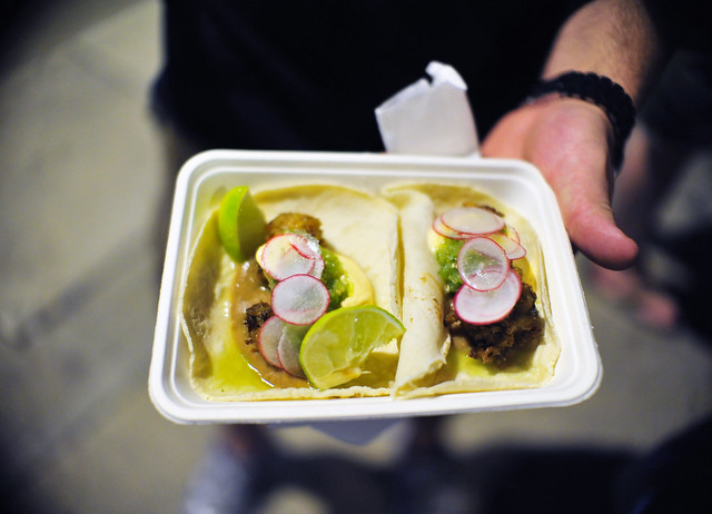Fried Oyster Tacos | Flickr - Photo Sharing!