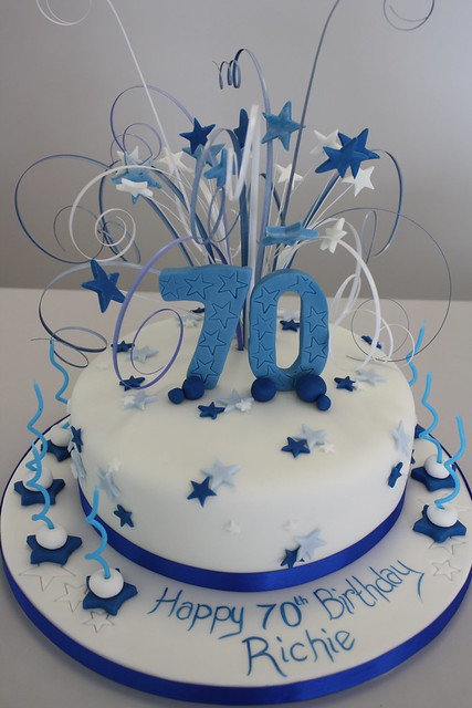 70Th Birthday Cakes for Men http://www.flickr.com/photos/cakechester/6062856787/