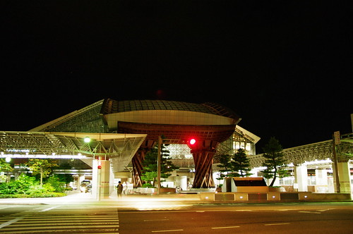 Kanazawa station terminal