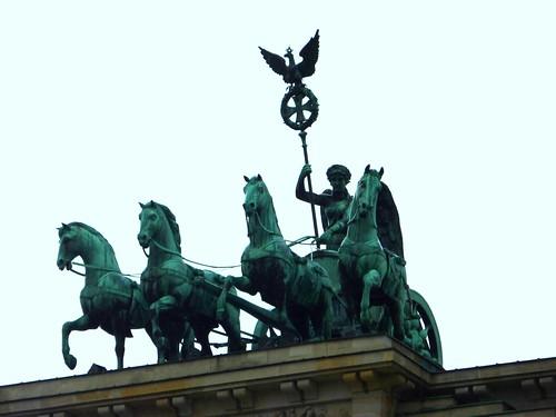 Cuadriga en la Puerta de Brandeburgo - dietadeporte