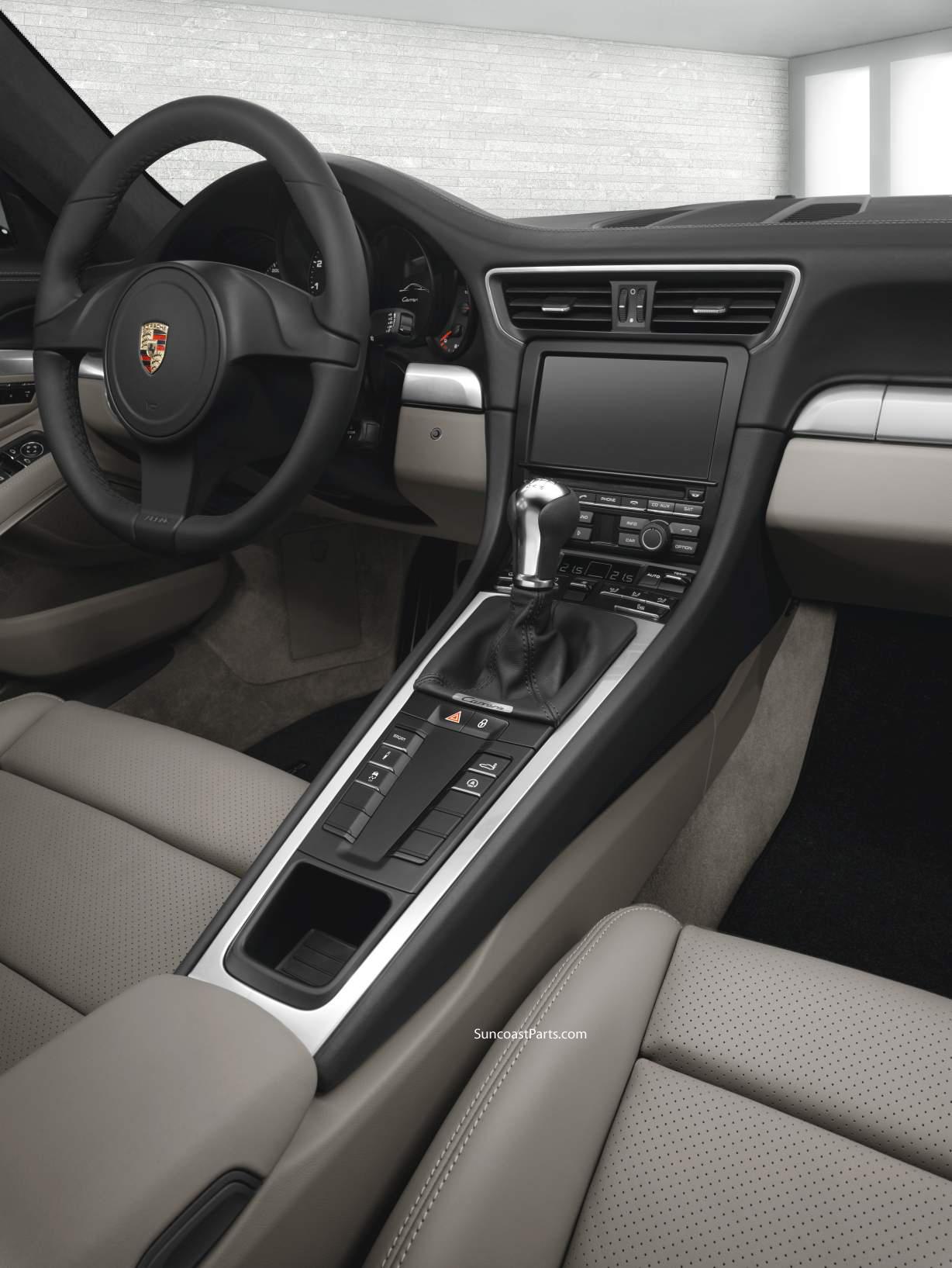 Officially official the new porsche 991 carrera for Interieur 991
