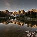 Kearsarge Pinnacles by Moonlight by Jeff Pang