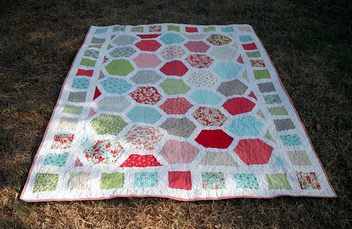 Hexagon Adult Quilt