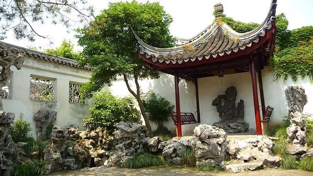 Jardines clásicos de Suzhou. China.