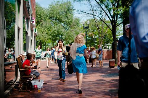 Pedestrian @ Harvard Square