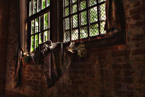 brick window wall canon hospital stencil bars decay asylum hdr windowbox secured westonstatehospital 60d transalleghenylunaticasylum