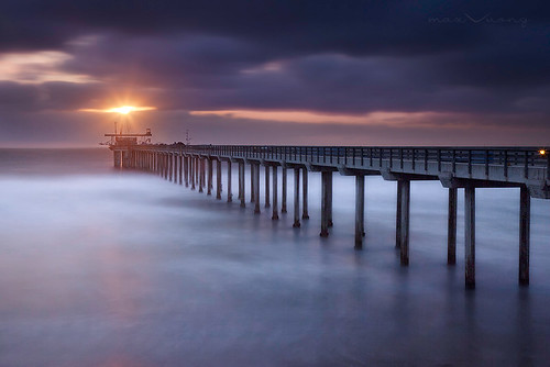 temple of the sun (scripps pier, la jolla)
