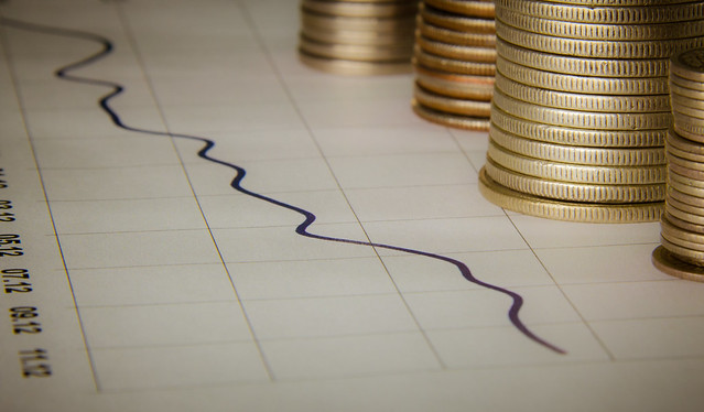 Graph With Stacks Of Coins