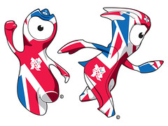 London 2012: Wenlock & Mandeville [official merchandising illustrations]