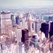 View NE from the Empire State Building, July 1976