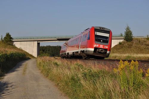 DB 612 490 + 612, Schönberg, 26-08-2011