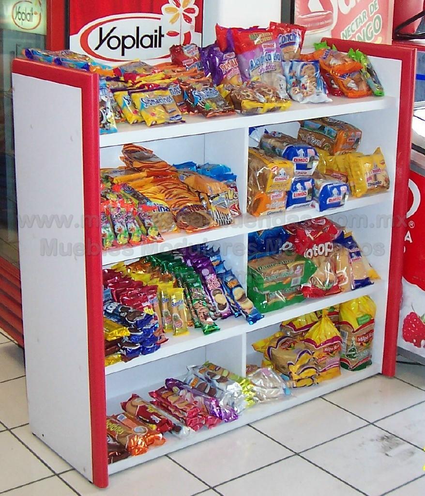 Muebles De Tienda Estantes Anaqueles Estanter S Most  # Muebles Para Fast Food