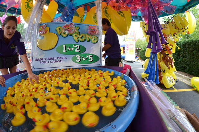 Duck Pond Carnival Game Flickr Photo Sharing
