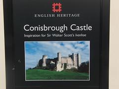 Yorkshire Holiday 2011, English Heritage - Conisbrough Castle.