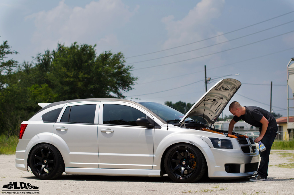 foto stanced dodge caliber. Black Bedroom Furniture Sets. Home Design Ideas