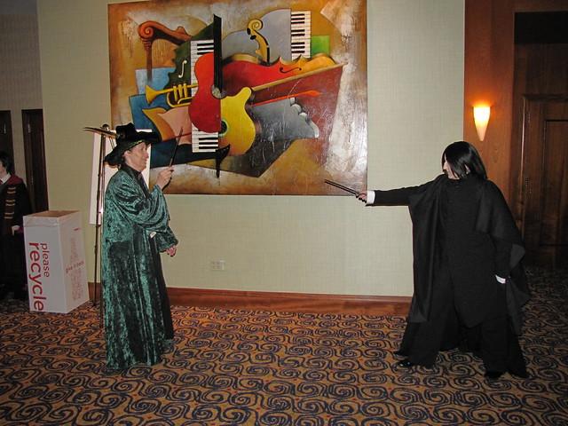 Professor Snape vs Professor Mcgonagall Professor Mcgonagall vs Snape