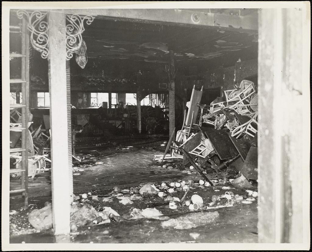 Cocoanut grove fire boston nov 28 1942 flickr Library garden grove