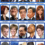 G-20 Leaders - Caricatures  (September 2011)