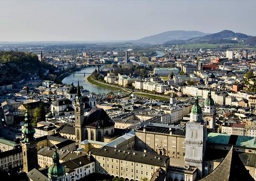 Salzburg Cityscape