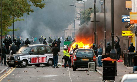 The Black and working class youth rebellion in Britain spread to Hackney from Tottenham on August 8, 2011. Various regions of the country were struck by young people responding to racism and the economic crisis. by Pan-African News Wire File Photos