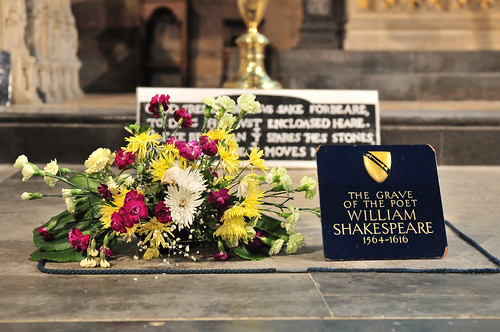 Grave of Shakespeare