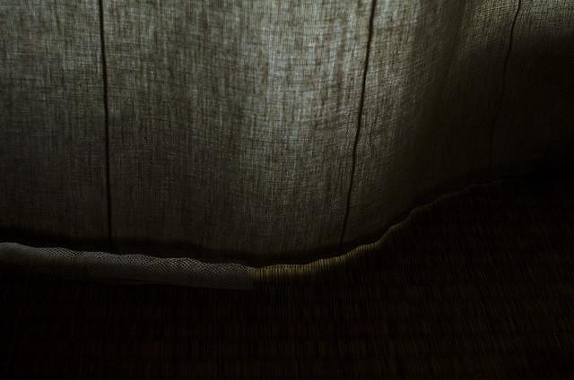 Curtain, tatami