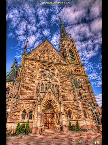 Oscarkyrkans huvudentré
