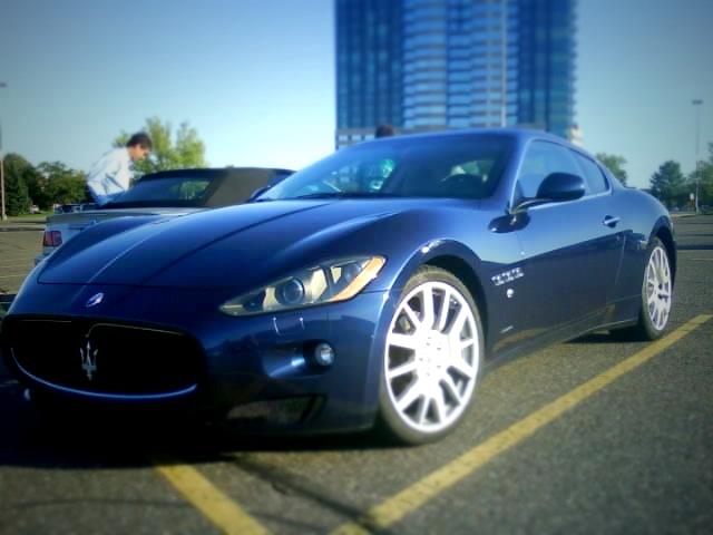 Maserati granturismo blue - photo#11