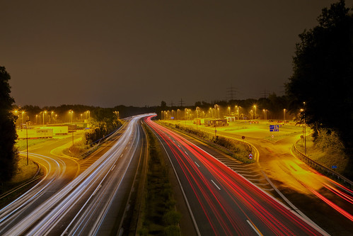 a45 at night