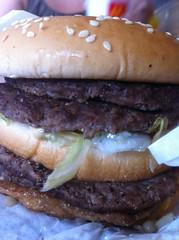 sandwich, meal, hamburger, meat, food, dish, cuisine,