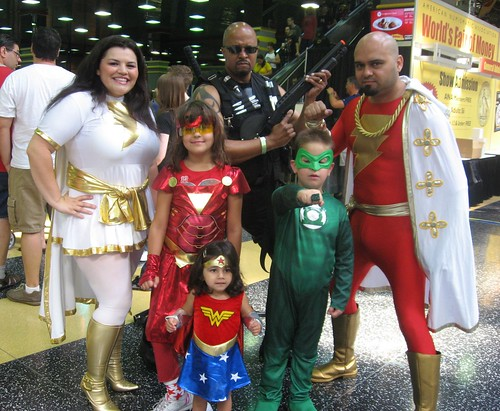 The Super-Friends @ Wizard World Chicago 2011