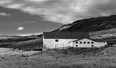 Icelandic Farmhouse (B&W)