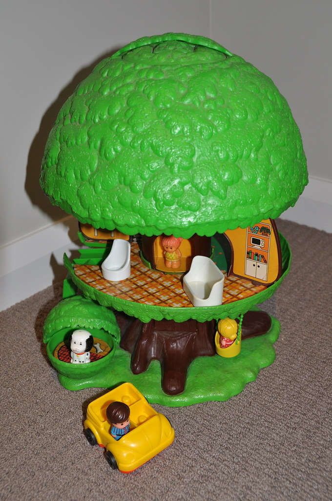 Kenner Treehouse Part - 16: Vintage Kenner Family Tree House