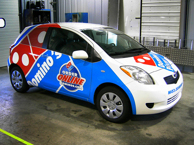 dominos delivery car flickr photo sharing. Black Bedroom Furniture Sets. Home Design Ideas
