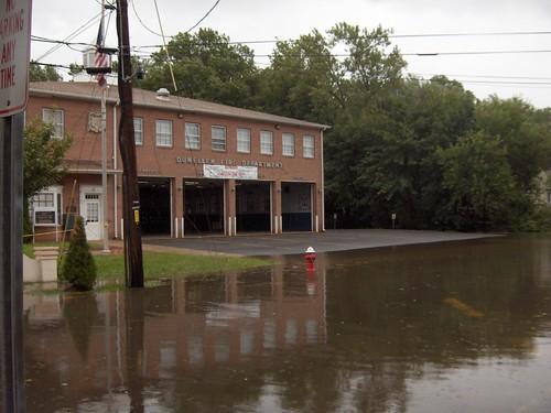 South Madison 8/28/11 Dunellen Firehouse Hurricane Irene