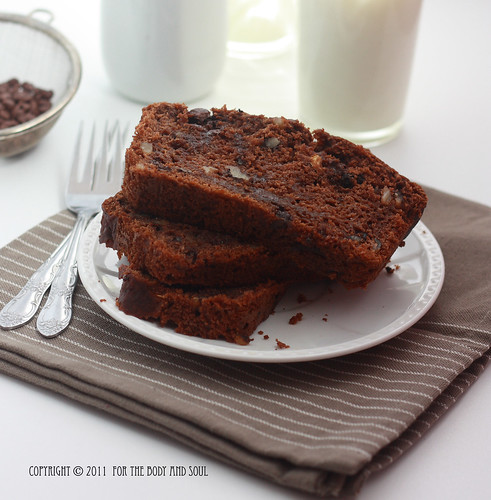 Chocolate & Zucchini Bread_7290 copy