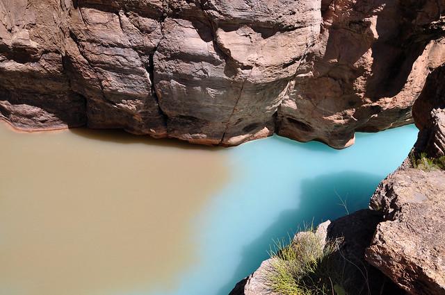 Grand Canyon: Mouth of Havasu Creek 0193