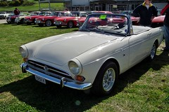 automobile, vehicle, sunbeam tiger, sunbeam alpine, antique car, classic car, land vehicle, convertible, sports car,