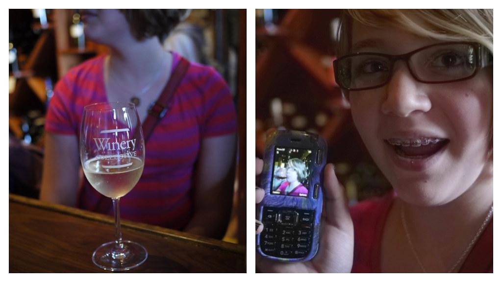 katie wine tasting (non-alcoholic)