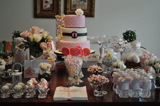 Baby shower table Flickr - Photo Sharing!