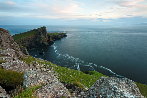 Slow Ocean - Neist Point Lighthouse , Isle of Skye , Scotland