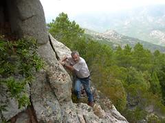 Punta di a Cuperchjata : visite de la vire sous le sommet avec Dumé