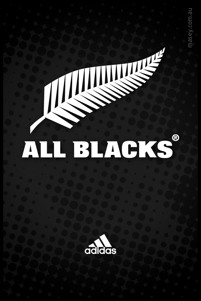 All Blacks iPhone wallpaper